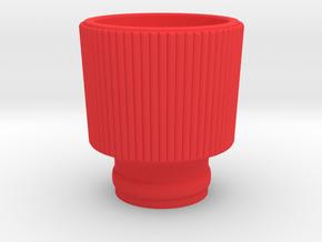 Siren base in Red Processed Versatile Plastic