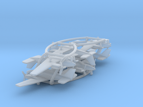 Beechcraft Baron G58 in Smooth Fine Detail Plastic: 1:400