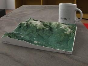 Mt. Washington, NH, USA, 1:50000 Explorer in Full Color Sandstone