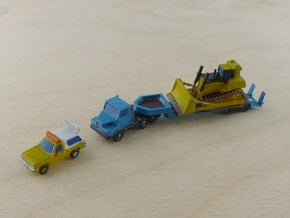 Generic Oversize Transport 1/285 in Smooth Fine Detail Plastic