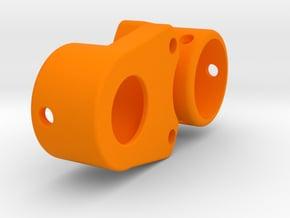 Mini MRC Lockout for tungsten weights in Orange Processed Versatile Plastic