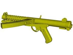 1/12 scale Sterling L-2A3 submachinegun A x 1 in Smooth Fine Detail Plastic