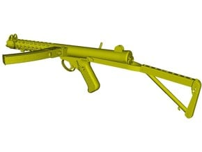 1/16 scale Sterling L-2A3 submachinegun B x 1 in Smooth Fine Detail Plastic