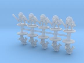 Lizard men Heavy 6mm Infantry Epic fantasy models in Smooth Fine Detail Plastic