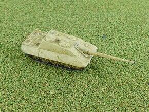 E-100 Jagdpanzer Tank Destroyer 1/285 6mm in Smooth Fine Detail Plastic