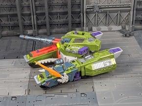 TF Weapon Spread Grenade Launcher add-on set in White Natural Versatile Plastic