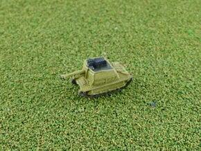 10,5cm le.F.H. auf Geschützwagen FCM(f) 1/285 in Smooth Fine Detail Plastic