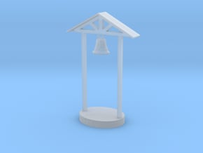 HO Scale School Bell in Smooth Fine Detail Plastic