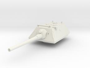 E-100 Krupp Turret 1/87 in White Natural Versatile Plastic