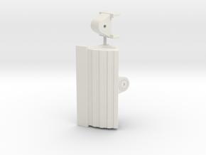 Grabenräumlöffel / grading bucket OQ80 2500mm in White Natural Versatile Plastic: 1:50