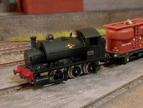 N Gauge GWR 1361 Class 0-6-0 in Smoothest Fine Detail Plastic