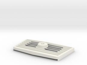 WHIRLCARE 100 GRILL VERSION 3 in White Natural Versatile Plastic