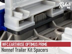 Nonnef Trailer Kit Spacers in White Natural Versatile Plastic