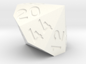 d56 from two dice in White Processed Versatile Plastic