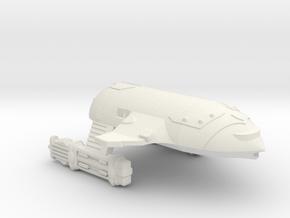 3125 Scale WYN Orca-F Fast War Cruiser (CWF) CVN in White Natural Versatile Plastic