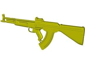 1/12 scale German Korobov TKB-408 rifle x 1 in Smooth Fine Detail Plastic