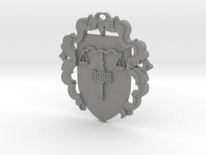 Custom Amulet 5 in Gray PA12