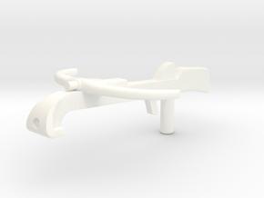 Baron Grod Crossbow VINTAGE in White Processed Versatile Plastic