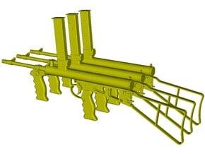 1/35 scale Owen Gun machine carbines x 3 in Smoothest Fine Detail Plastic