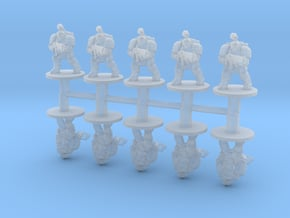 Thunderous Warriors 6mm Infantry miniature models in Smooth Fine Detail Plastic