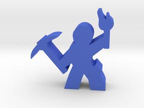 Guy Adventurer, torch, pick in Blue Processed Versatile Plastic