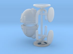 1/24th Spotlight floodlight Crouse and Hinds type in Smooth Fine Detail Plastic