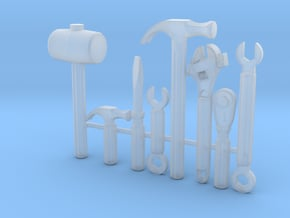 MCX Tools Set in Smoothest Fine Detail Plastic: Small