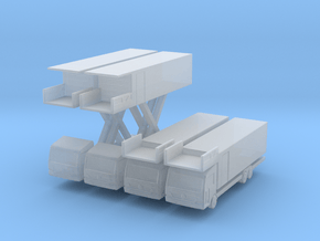 Econic Catering Truck (x4) 1/500 in Smooth Fine Detail Plastic
