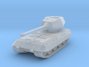E-100 (Rear Turret) (skirts) 1/285 in Smooth Fine Detail Plastic