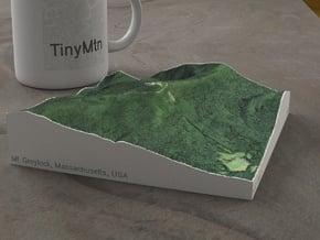 Mt. Greylock, Massachusetts, USA, 1:25000 in Natural Full Color Sandstone
