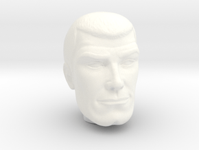 Jonny Quest - Race Bannon - 1/9 in White Processed Versatile Plastic