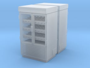 Grocery Fridge 02. 1:87 Scale (HO) in Smooth Fine Detail Plastic