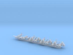 AD-5W/EA-1E w/gear x8 (CW) in Smooth Fine Detail Plastic: 1:500