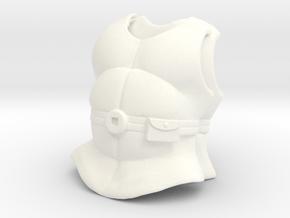 Jarvan/Zem Armor VINTAGE in White Processed Versatile Plastic