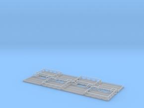 1:400 ULD Storage 4pc in Smooth Fine Detail Plastic