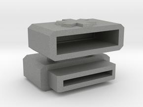 Medical Micro SD Pendant in Gray PA12