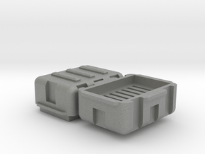 Micro SD Storage Hard Case in Gray PA12