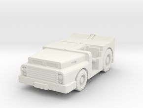 MD-3 Tow Tractor 1/120 in White Natural Versatile Plastic