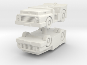 MD-3 Tow Tractor (x2) 1/144 in White Natural Versatile Plastic