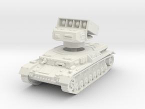 Panzer IV Raketenwerfer 1/72 in White Natural Versatile Plastic