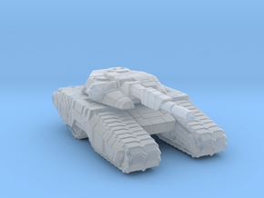 Scifi Tank 6mm vehicle miniature model Epic games in Smooth Fine Detail Plastic