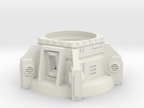 Heavy Weapons Turret in White Natural Versatile Plastic
