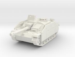 StuG III G early (schurzen) 1/144 in White Natural Versatile Plastic