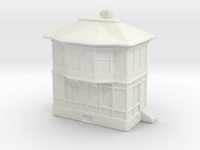 Railway Signal Tower 1/220 in White Natural Versatile Plastic