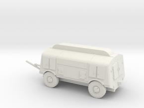 1/72 Eylert German Luftwaffe trailer 350  in White Natural Versatile Plastic