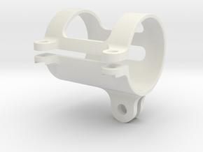 Flashlight GoPro Mount 32mm in White Natural Versatile Plastic
