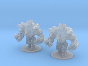Siege Mech 6mm Infantry Epic fantasy models golems in Smooth Fine Detail Plastic