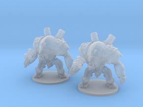 Mechguard 6mm Infantry Epic fantasy models golems in Smooth Fine Detail Plastic