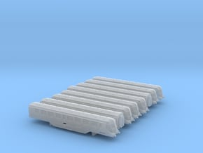 GWR Railcar Set - T - 1:450 in Smooth Fine Detail Plastic