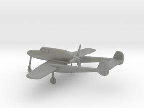 Saab J.21A in Gray PA12: 1:160 - N